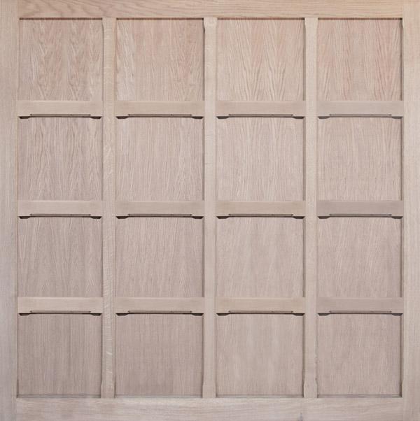 Wooden Garage Door Monmouth Oak Broadoak