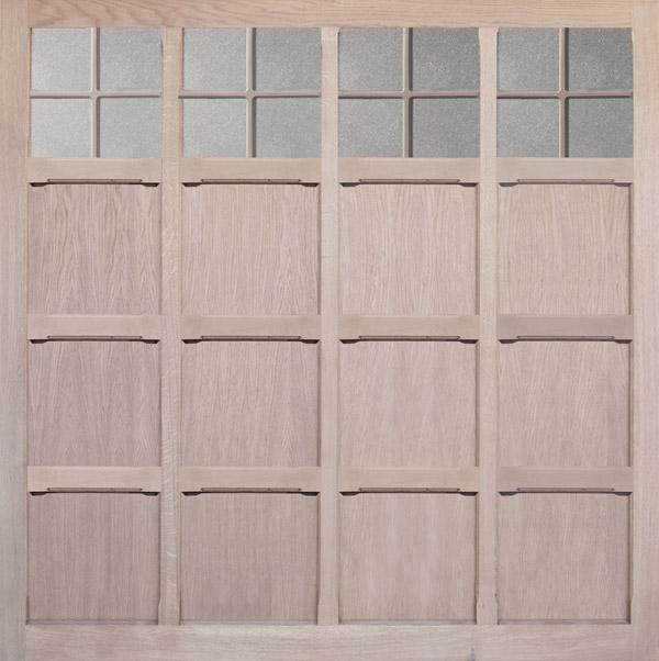 Wooden Garage Door Monmouth Oak Oakgrove