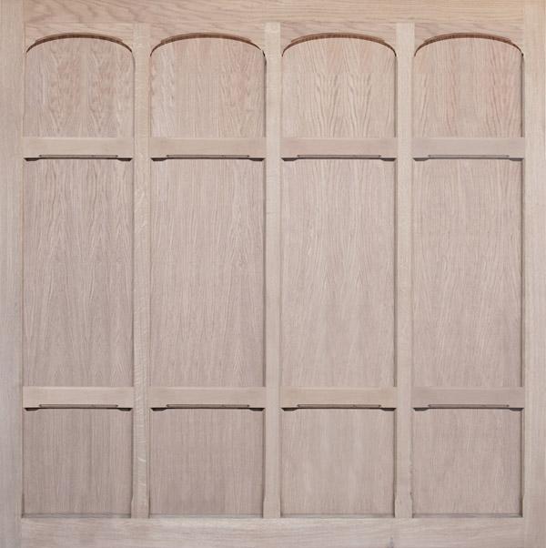 Wooden Garage Door Monmouth Oak Oakmere