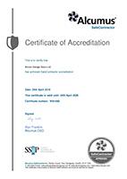 Safe Contractor SSIP Certificate