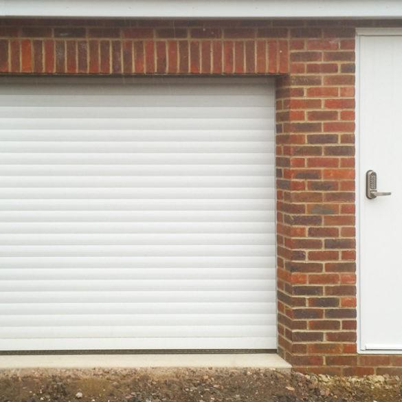 SeceuroGlide roller garage door