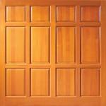 Wooden Garage Door Buckingham Sherington