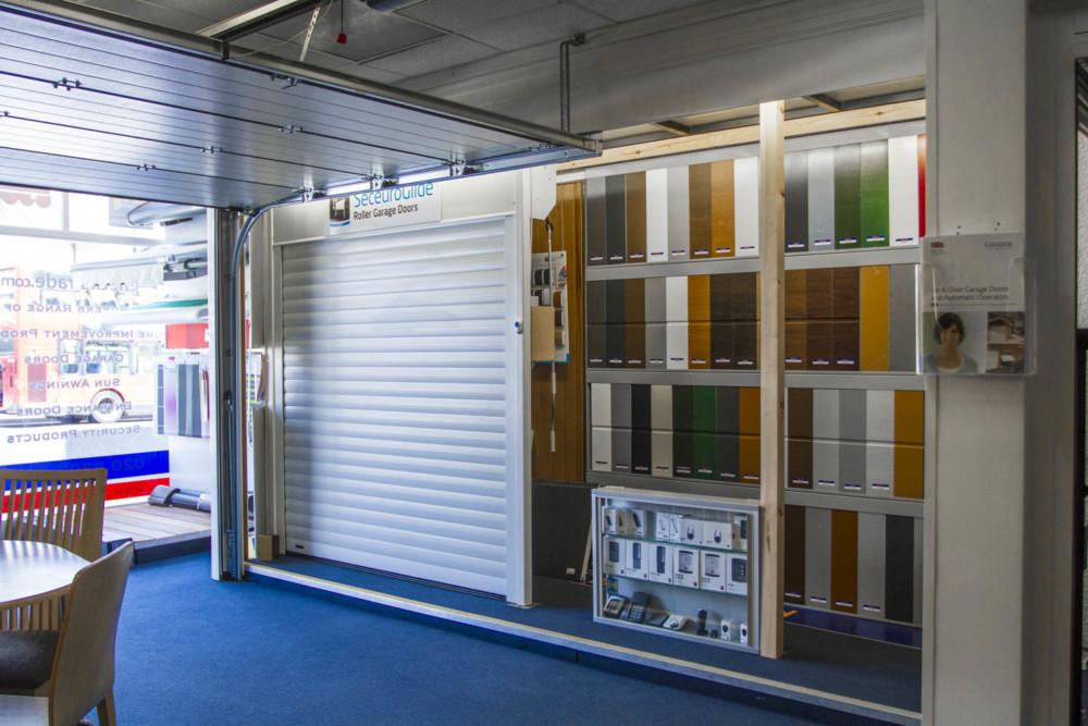 Sidcup showroom Seceuroglide display