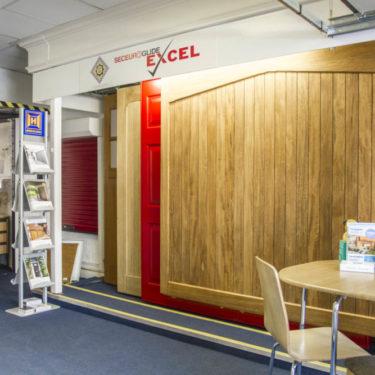 Sidcup showroom Woodrite display