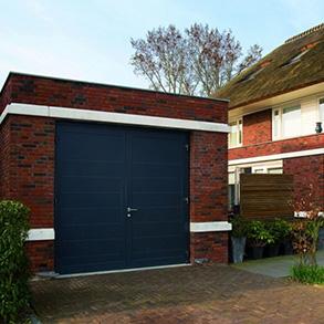 Hormann side hinged garage doors