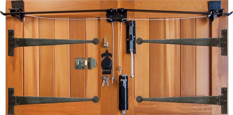 Exceptionnel Wooden Garage Door