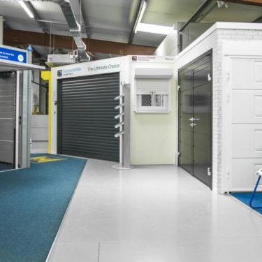 Upminster seceuroglide roller doors