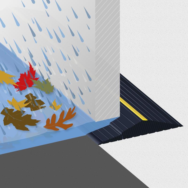 Weather Defender floor seal