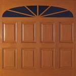 Wessex Woodgrain Purbeck Up and Over Garage Door