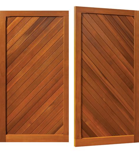 Woodrite Burnham Garage Door